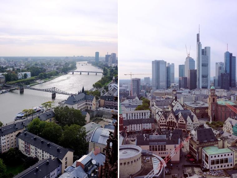 Francoforte dall'alto