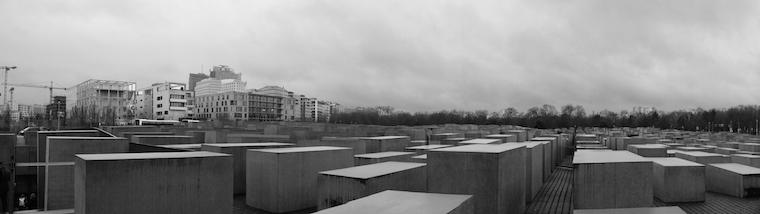 Berlino memoriale per gli ebrei