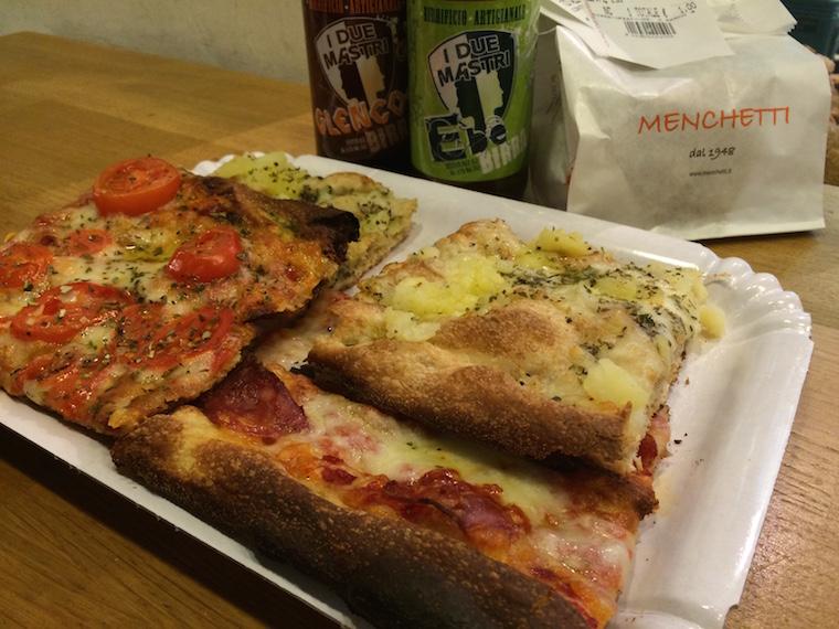 Panificio Menchetti pizza al taglio