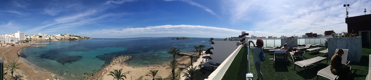 Ibiza panoramica mare