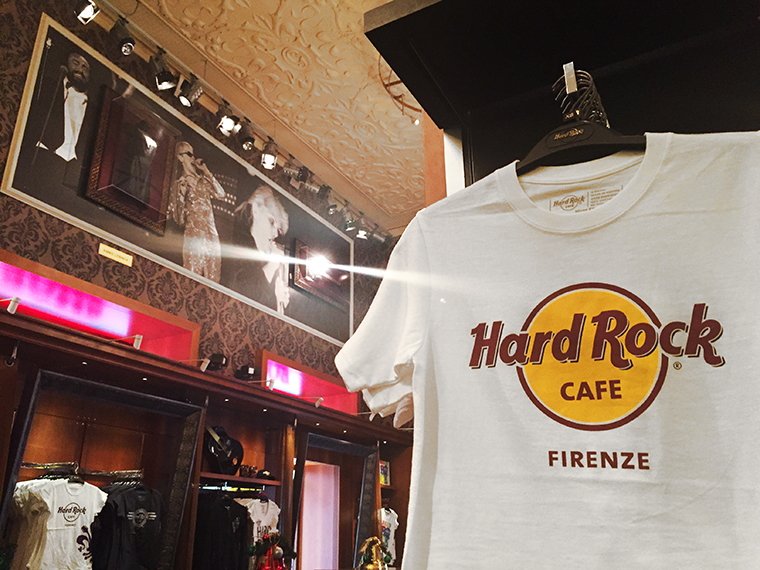 Hard Rock Cafe Firenze t-shirt