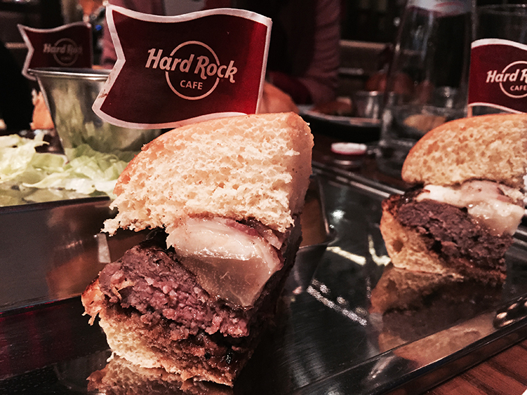 Hard Rock Cafe Firenze Smart Box hamburger