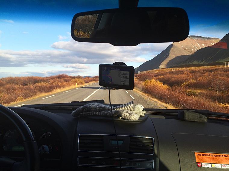 viaggiare in auto in Islanda