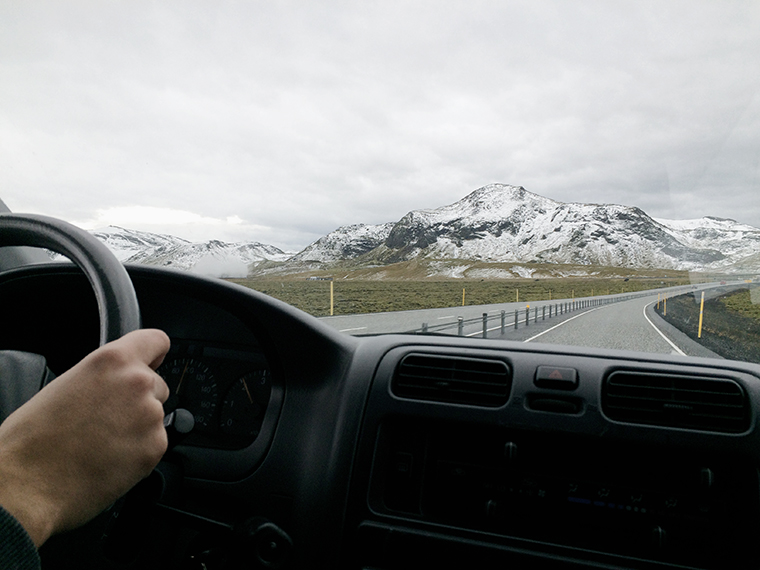 Islanda auto interno