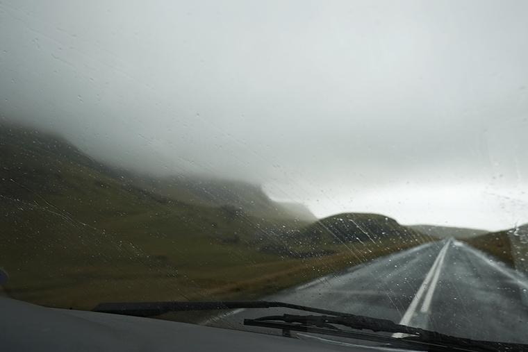 Islanda panorama auto 2