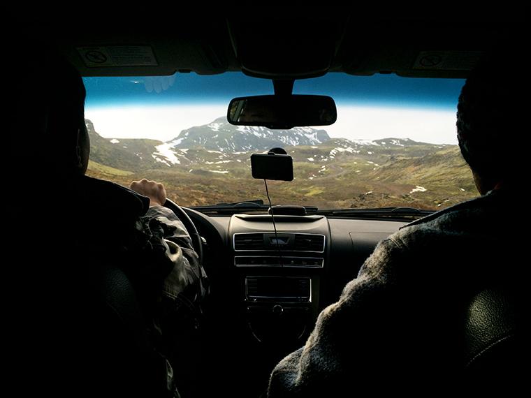 Islanda panorami auto 5