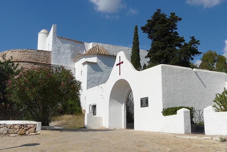 Ibiza chiesa Saint Eulalia