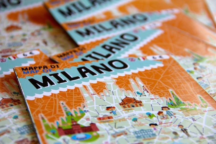 ItalyForKids mappa di Milano