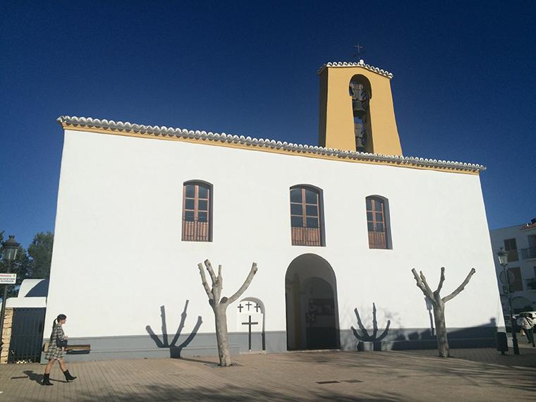 Ibiza chiesa di Santa Gertrudis Mártir