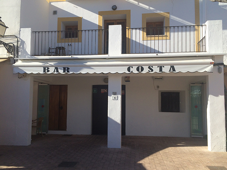 Ibiza Santa Gertrudis de Fruitera Bar Costa