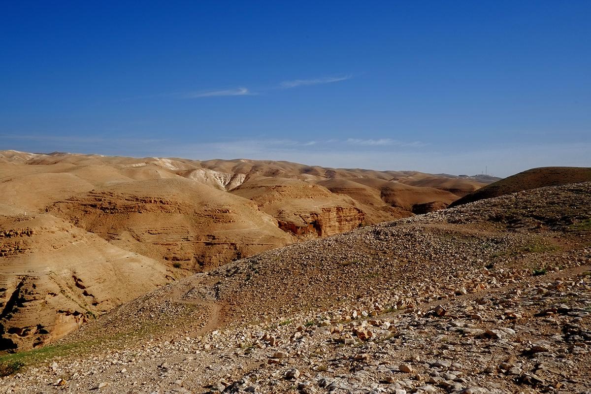Deserto di Giuda - Wadi Kelt