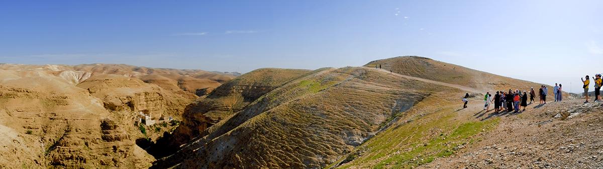 Deserto di Giuda - Wadi Quelt