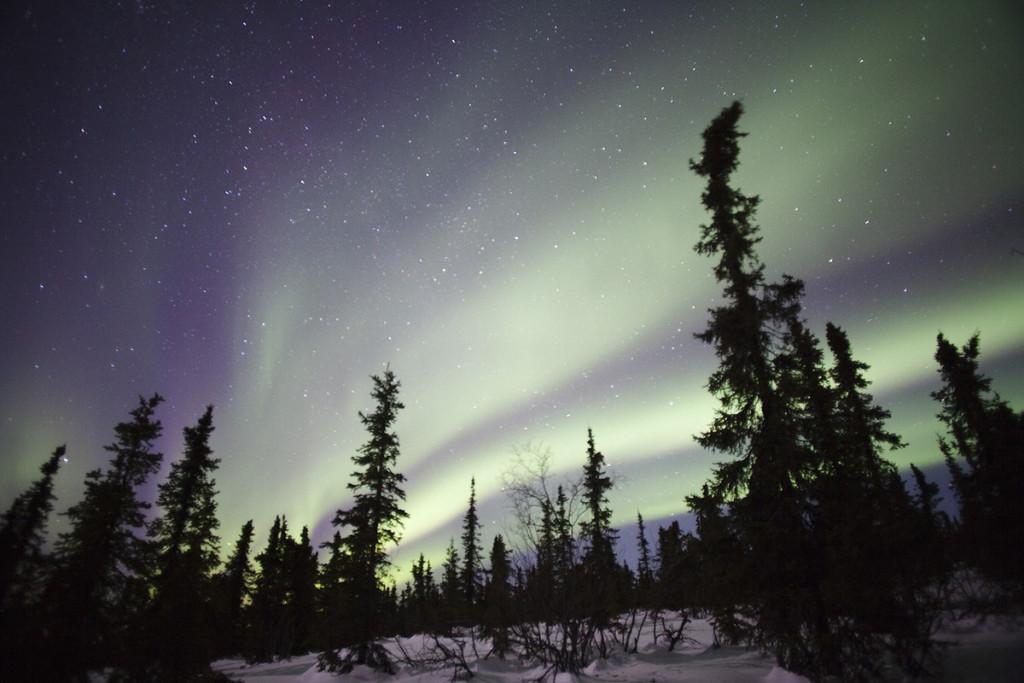 Fotografare l'aurora boreale