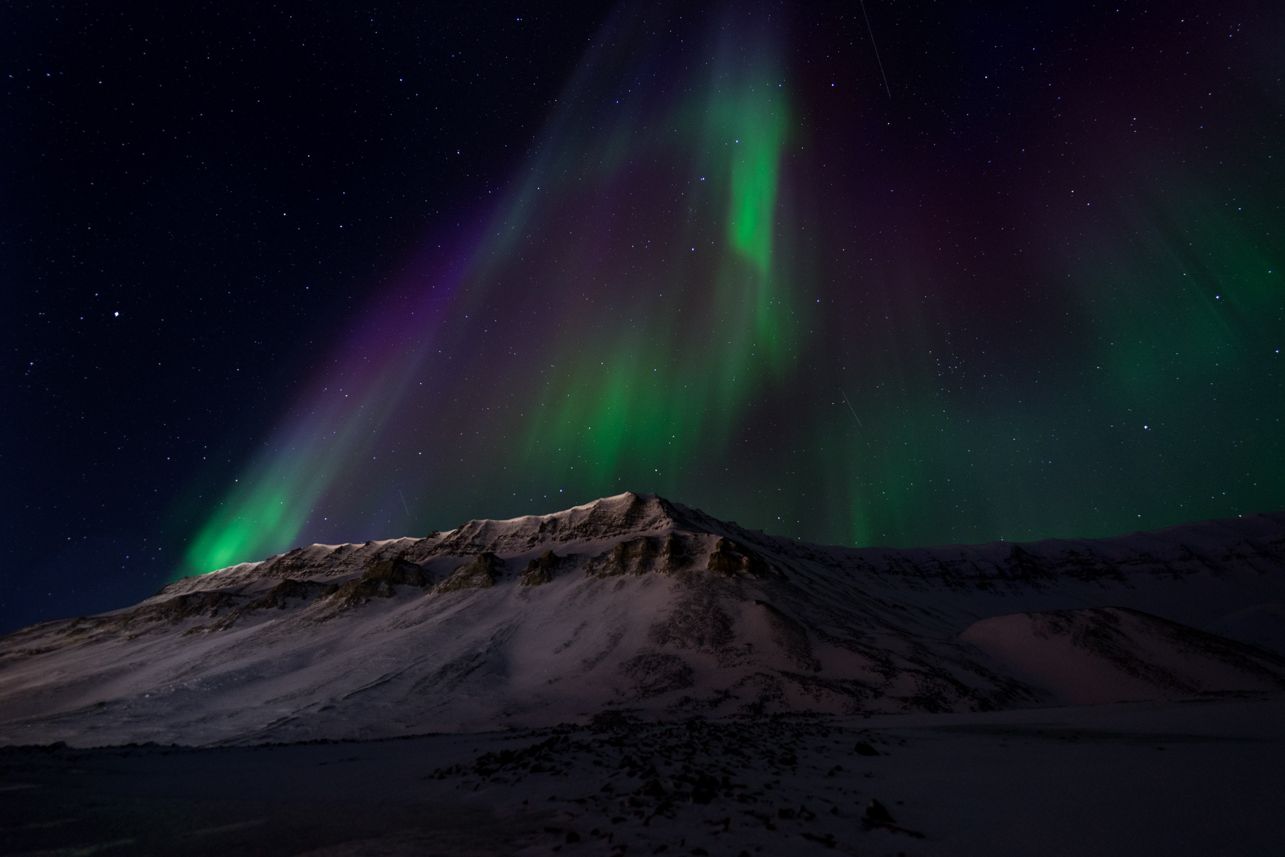 aurore boreale isole svalbard