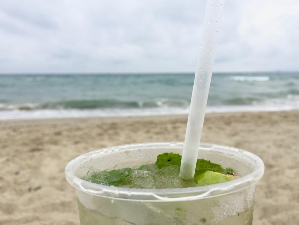 Spiaggia Nano Verde Mojito