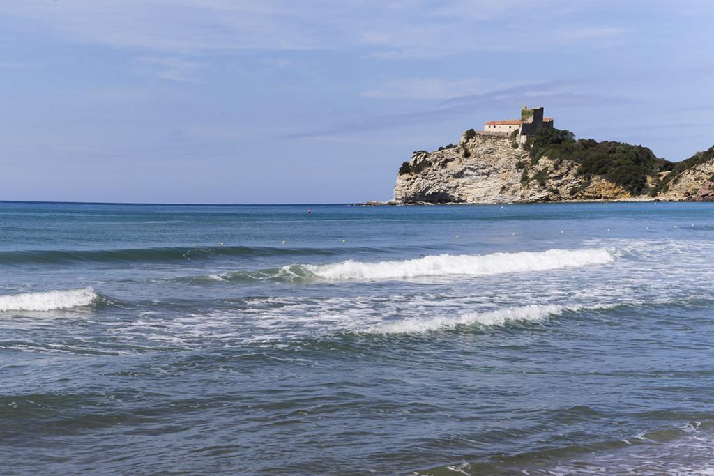Spiaggia delle Rocchette a Castiglione della Pescaia