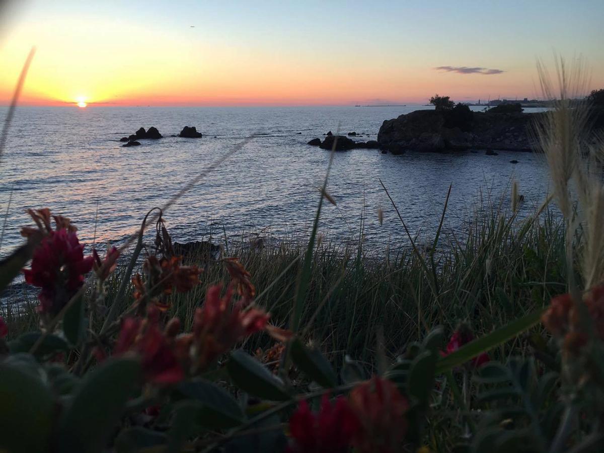 Livorno Ardenza tramonto sul mare