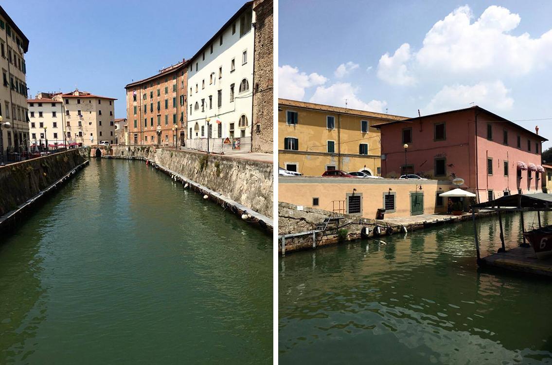 Livorno i Fossi del quartiere Venezia
