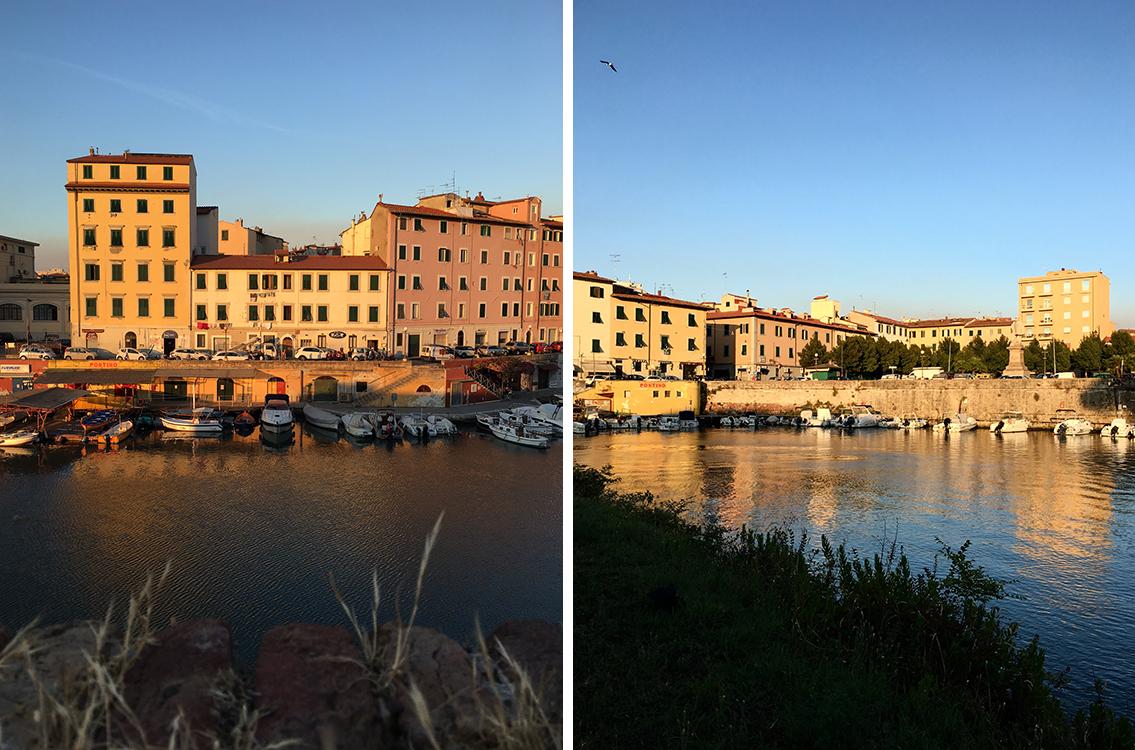 Livorno palazzi del quartiere Pontino