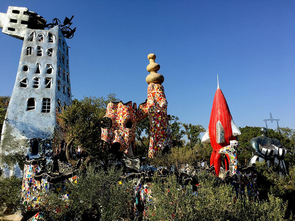 Il Giardino dei Tarocchi La Torre di Babele