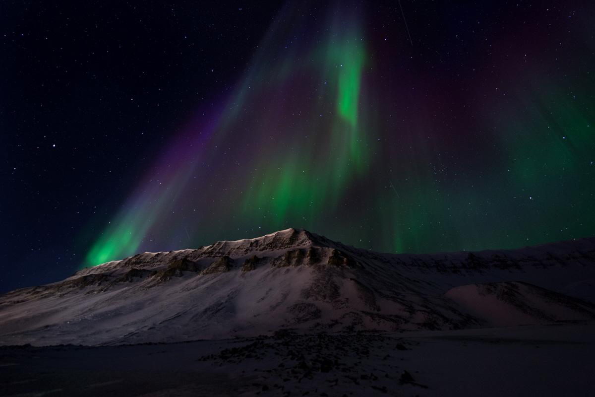 Aurora alle Svalbard