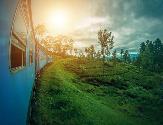 Trenino azzurro Sri Lanka