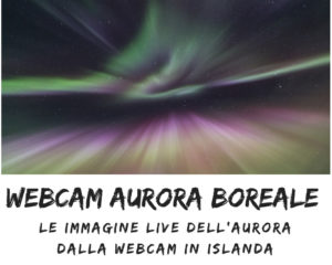 webcam aurora boreale