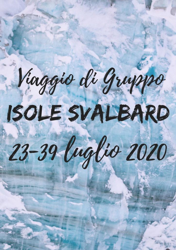 viaggio di gruppo Svalbard
